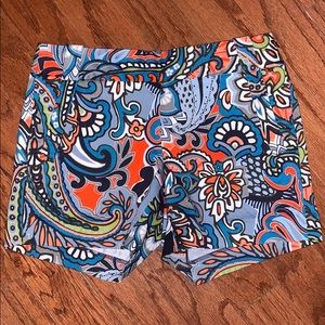 New J Crew City Fit Stretch Chino Shorts